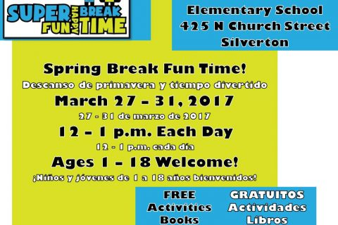 Spring Break is almost here and MTE will be serving FREE LUNCHES.