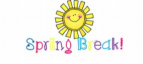 Spring Break is March 20th – 24th.