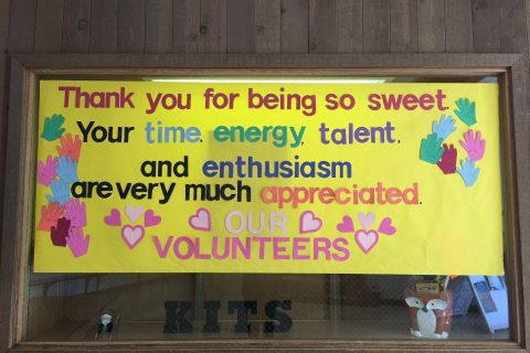 Volunteer Appreciation Week is April 24 – 28 and We Couldn't Wait To Say…
